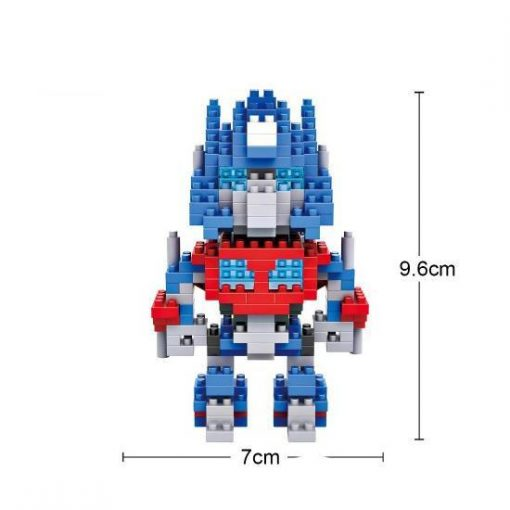 LOZ nanoblocks transformeres optimus prime